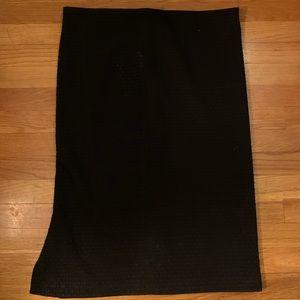Loft Black Skirt - Size Large